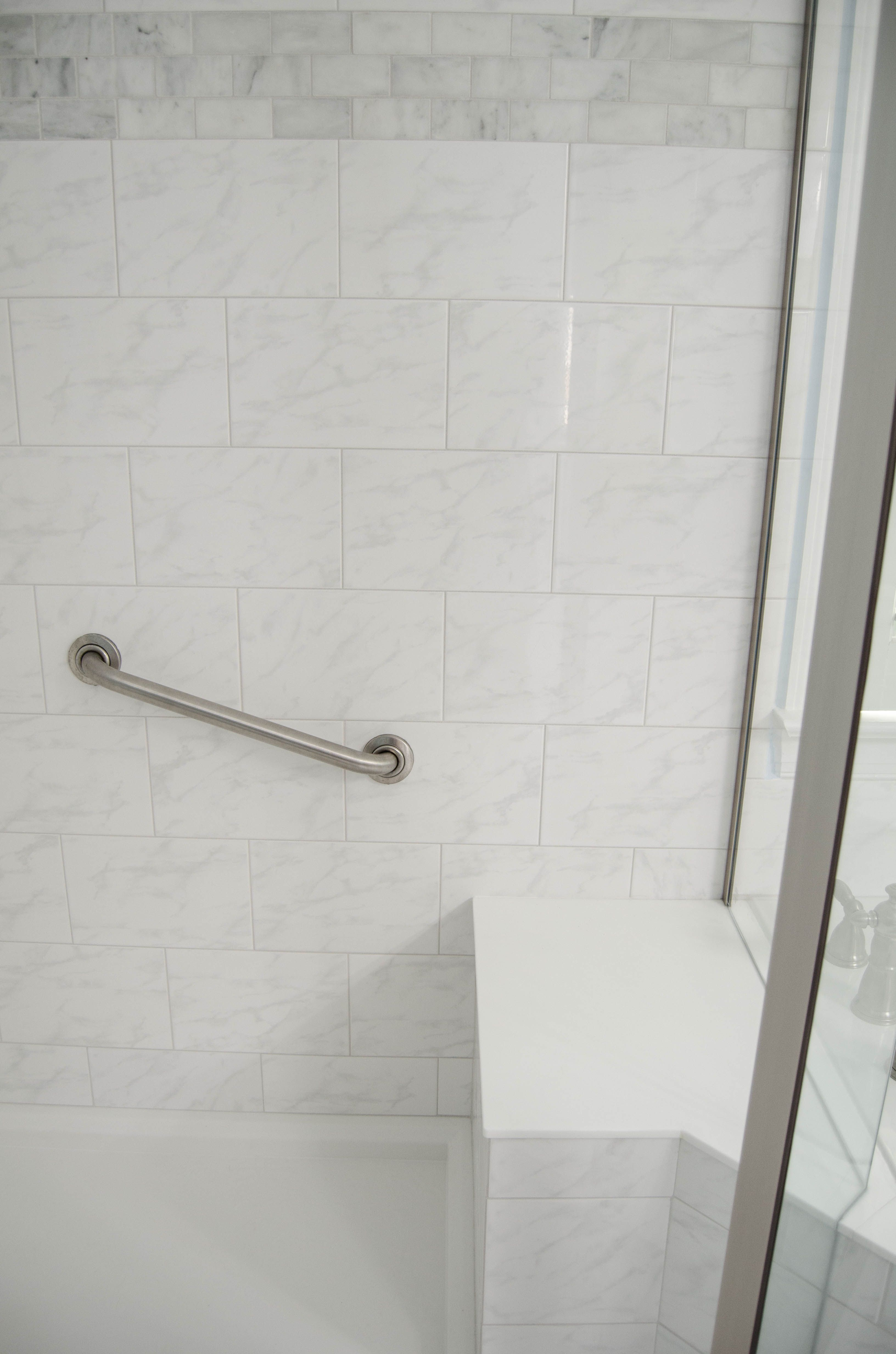 Crisp - Clean - Updated Bathroom - Curtsey of Re-Bath of the ...