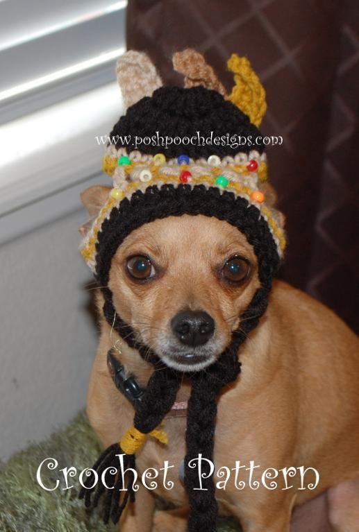 Native American Dog Hat Indian Dog American Dog Native