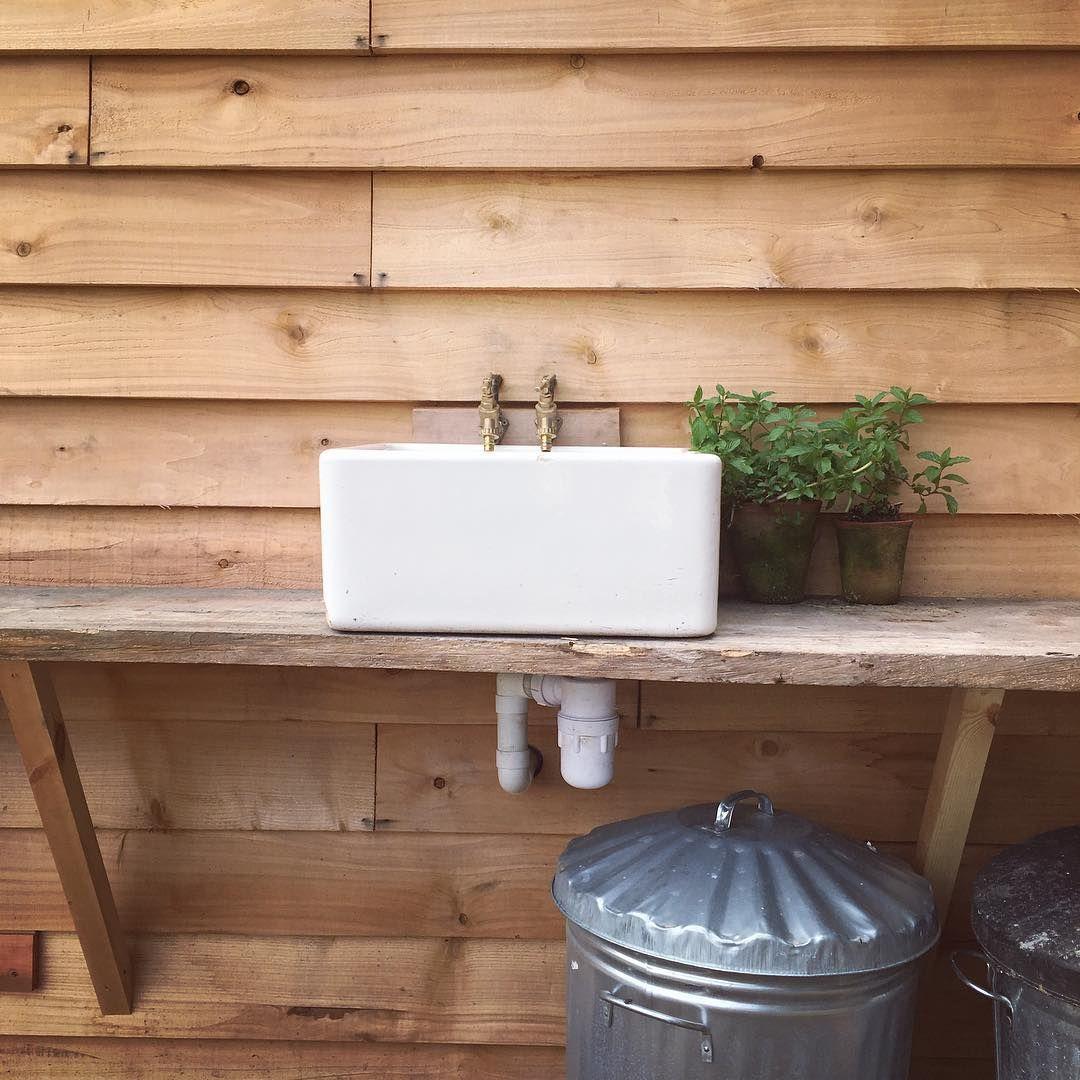 bradshaw & sons - belfast sink | Outdoor sinks, Belfast ...