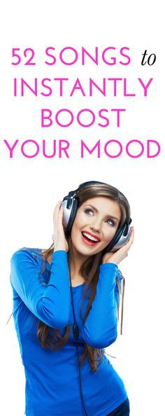 52 songs to boost your mood - I NEED this list every morning!