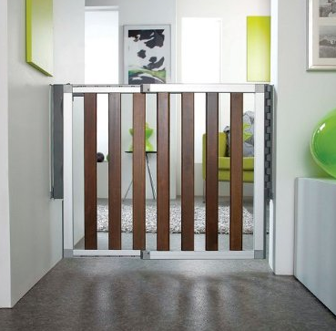 Permanent baby gate idea. Baby gates, Child safety gates