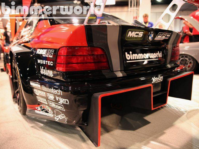 BMW E36 Race Car with a 1000 hp Twin-Turbo P63 V8 – Engine Swap Depot
