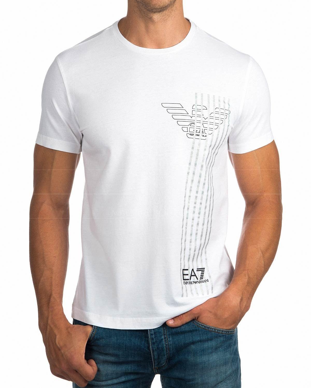 Camisetas EA7 Armani ® Blancas | ENVIO GRATIS & MEJOR PRECIO