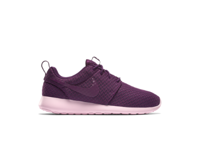 Nike Roshe One Womens Lifestyle Shoes Mulberry Prism Pink Mulberry