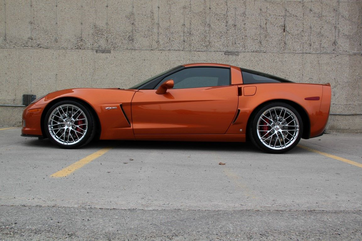 2009 atomic orange z06 corvette 191 units