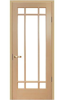リビングのドアにぴったり アメリカンタイプの木製内装ドア 室内ドア