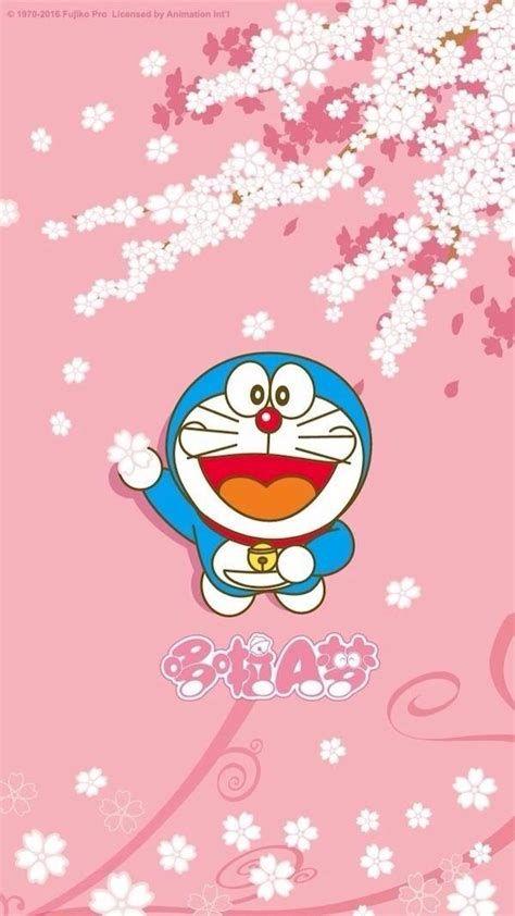 Wallpaper Wa Doraemon Pink - Picture.idokeren