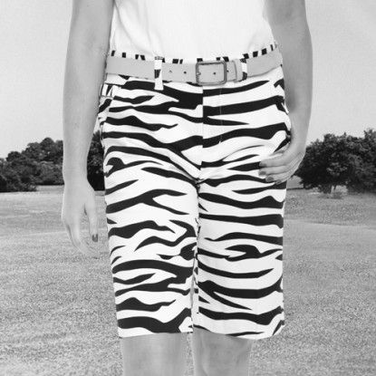c357e0a3041a Women's Golf Shorts by Royal & Awesome - Zebra to Ze-Bar. Buy it @  ReadyGolf.com
