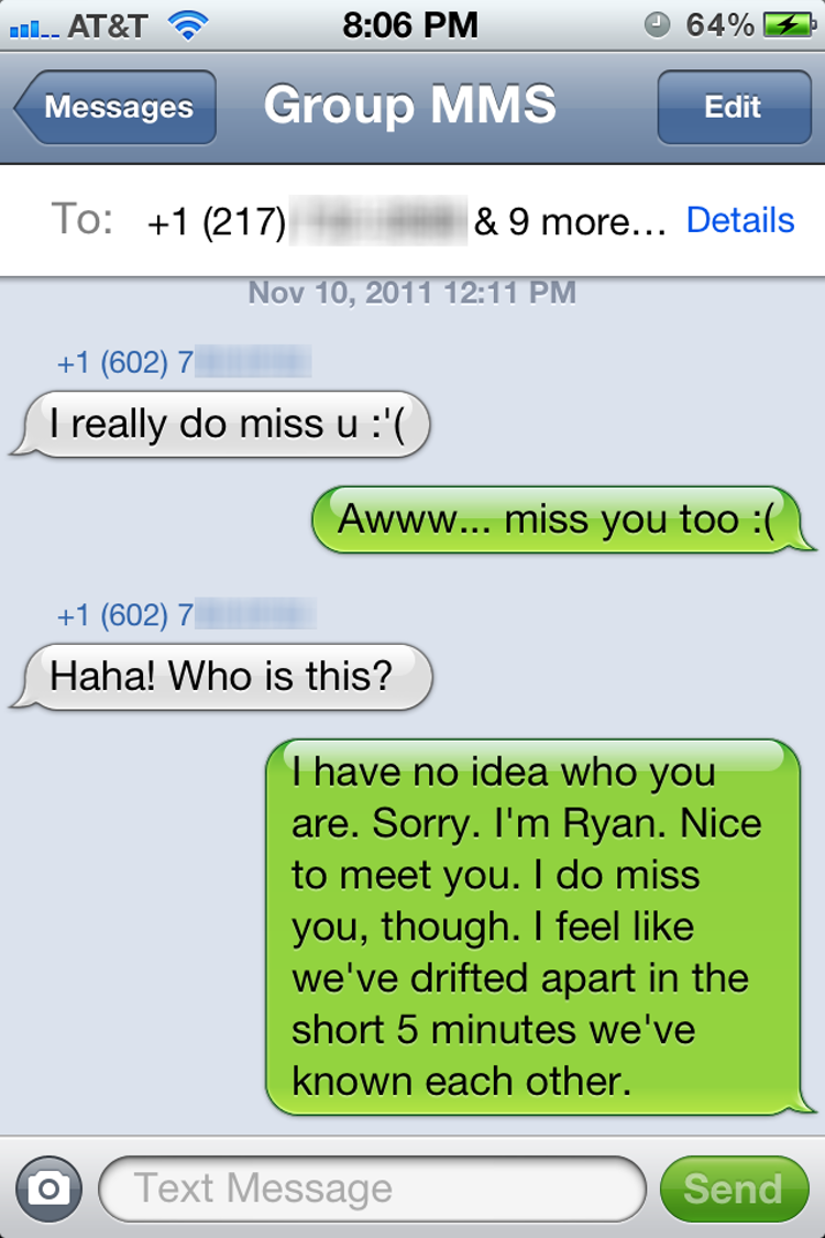 These Group Text Fails Will Make You Silence Your Phone Forever Funny Texts Funny Text Messages Funny Texts Crush