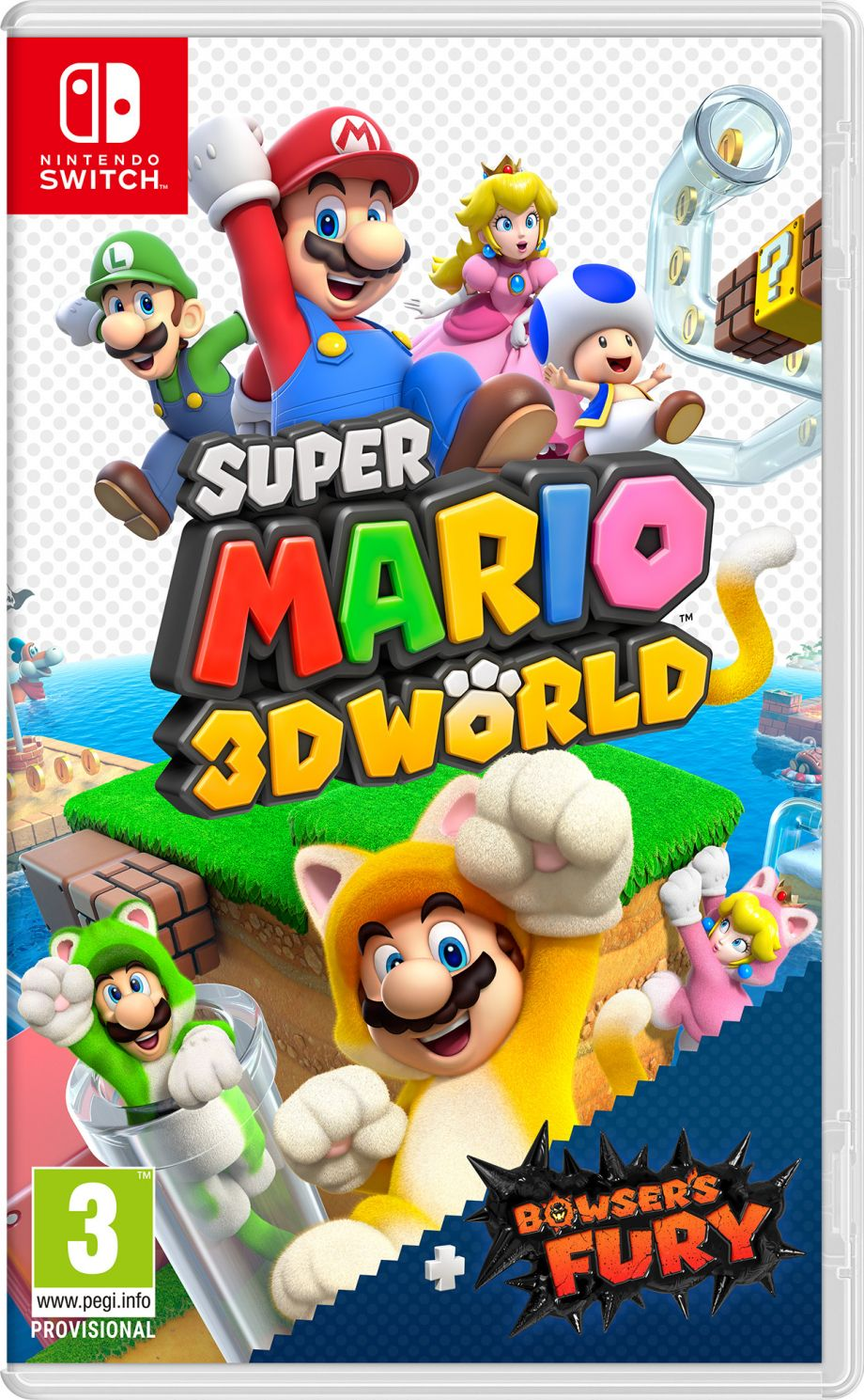 Preco Maj Super Mario 3d World Bowser S Fury Steelbook Jeux Video Steelbook Futurepak Edition Collector Et Jeux Super Mario Nintendo Nintendo Switch