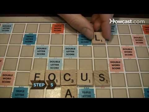 How To Play Scrabble With Images Scrabble Board Game Play