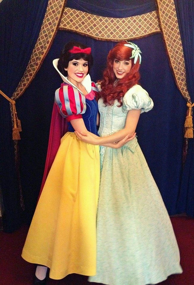 Ariel and Snow White Disney World  sc 1 st  Pinterest : disney world costumes  - Germanpascual.Com