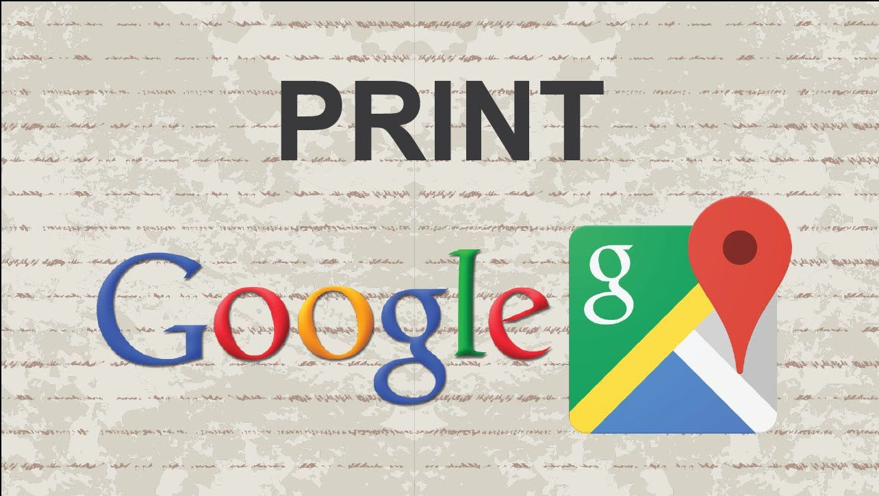 How to print Google Maps #video #youtube #tutorial #tips