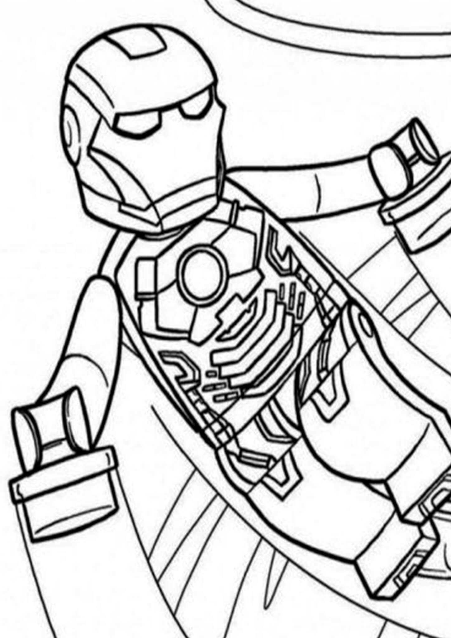 Free Easy To Print Iron Man Coloring Pages Lego Coloring Pages Superhero Coloring Pages Coloring Pages