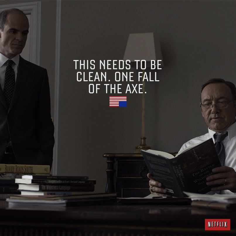 House Of Cards - Frank Underwood And Doug Stamper