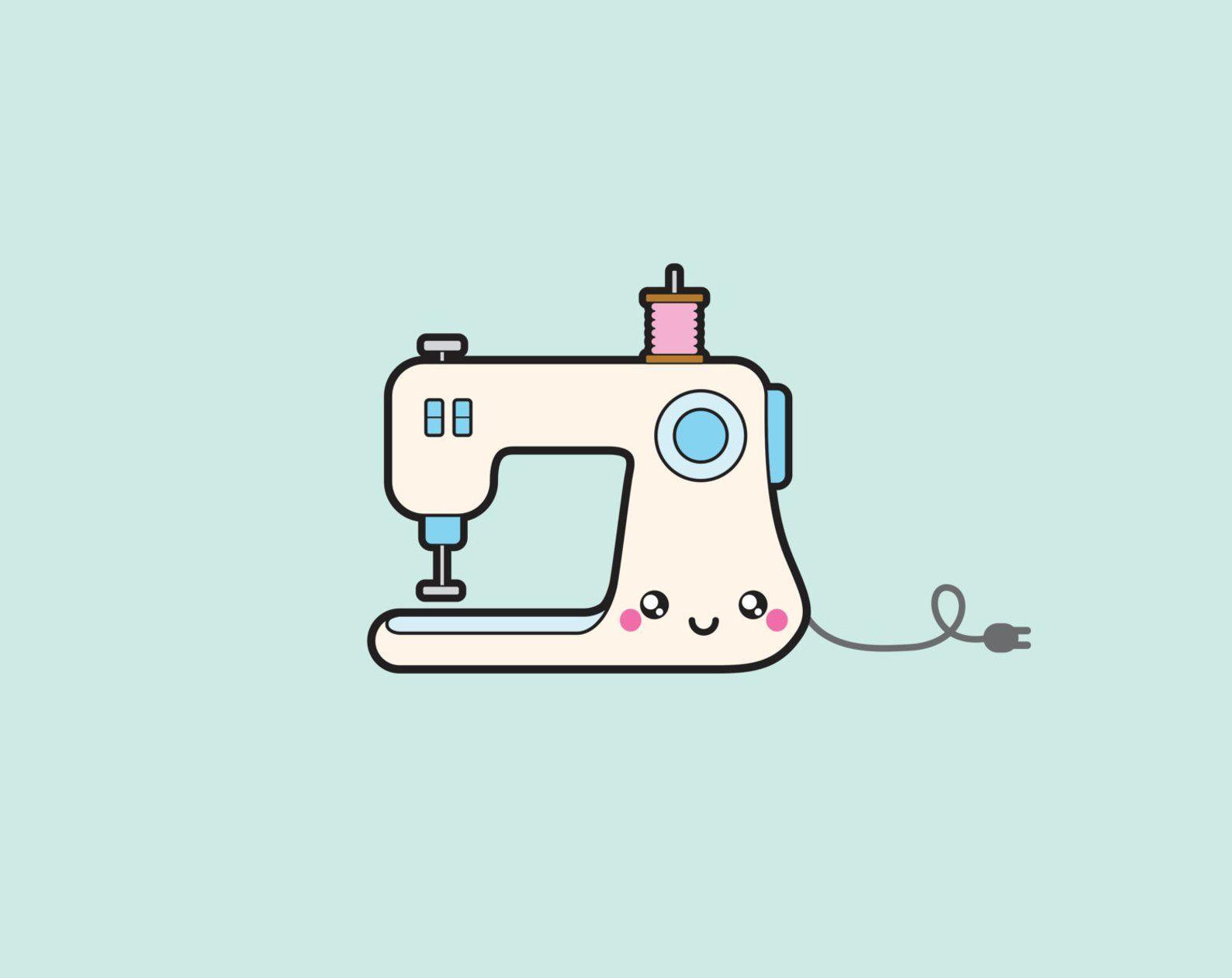 Premium Vector Clipart Kawaii Sewing Clipart Kawaii Sewing Clip Art Set High Quality Vectors Instant Download Kawaii Sew Clipart Sewing Clipart Clip Art Kawaii Clipart