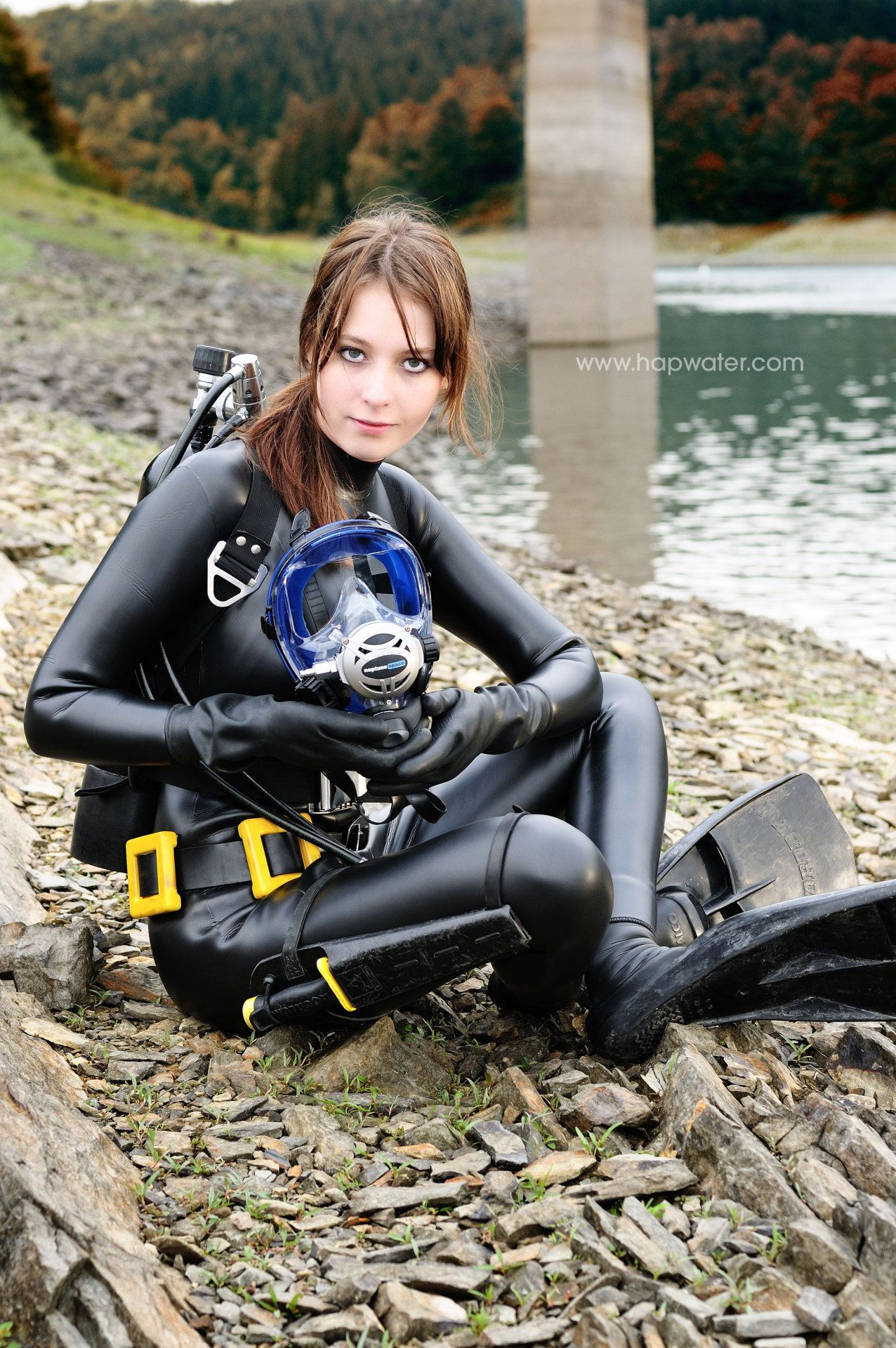 from Wesley asian girl in wetsuit