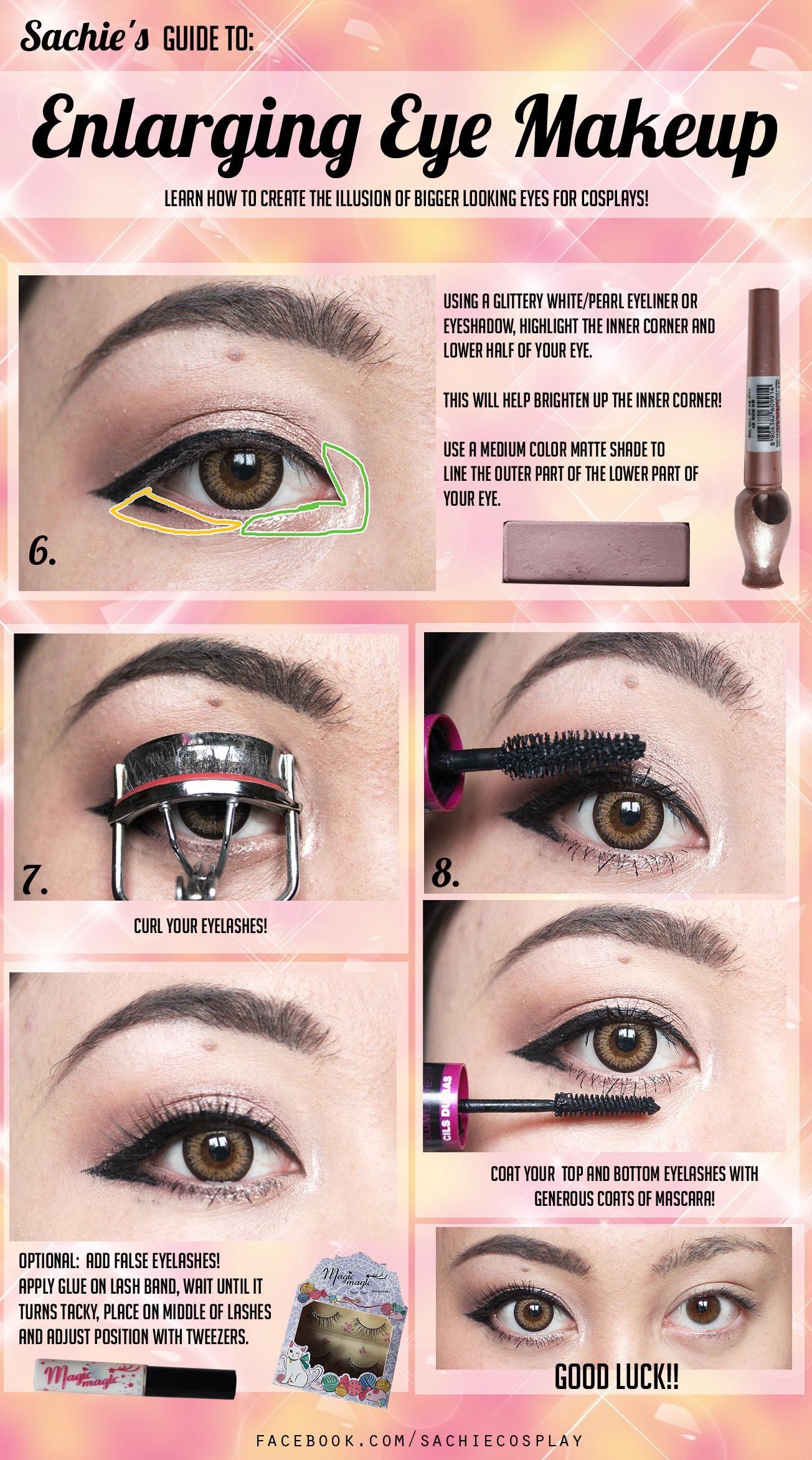 Lovely complex tutorial brows enlarging eye makeup for lovely complex tutorial brows enlarging eye makeup for cosplay baditri Gallery