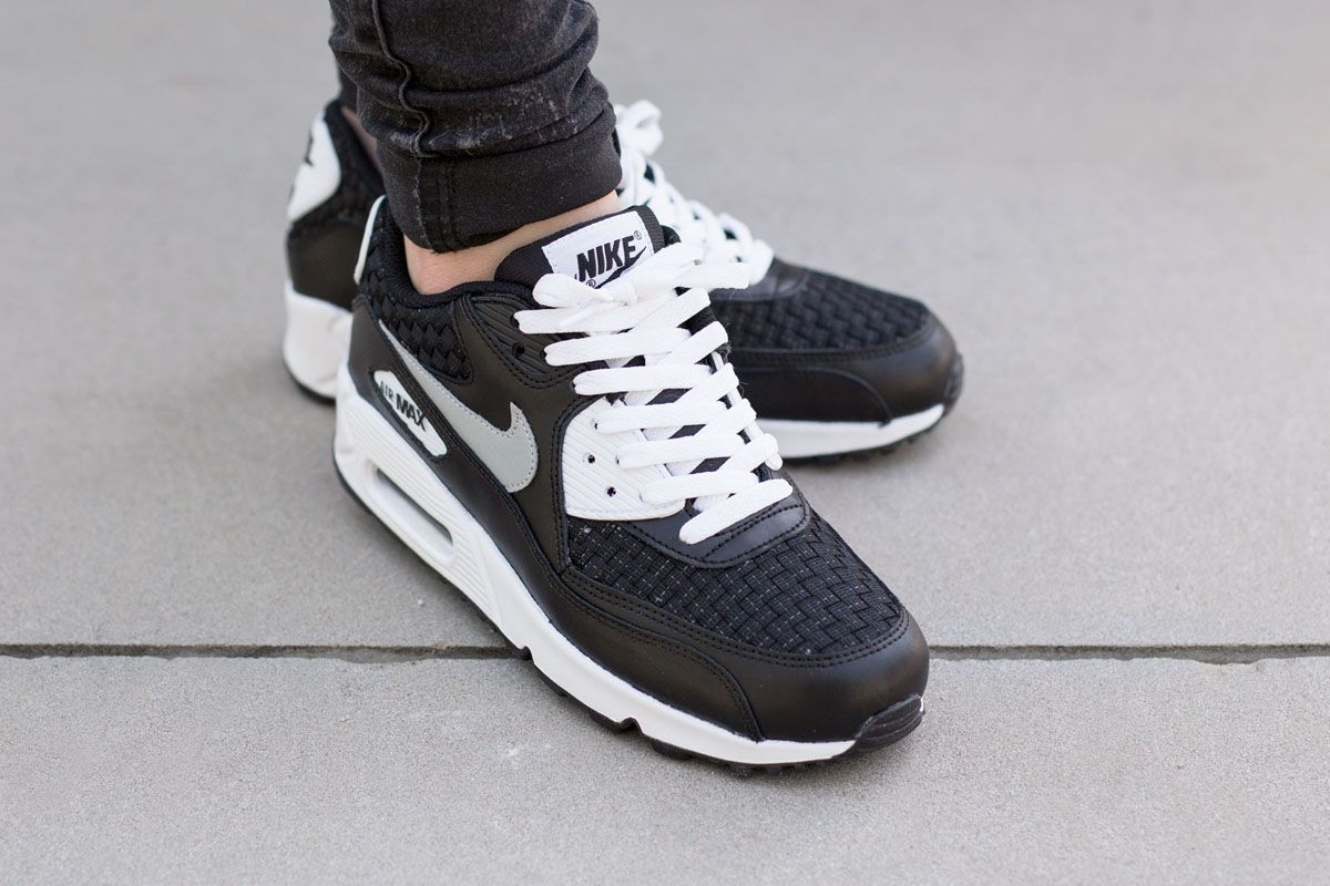 nike air max 1 print (gs) white\/ white- black- anthracite capital