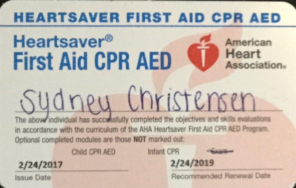 Cpr certification cpr certification