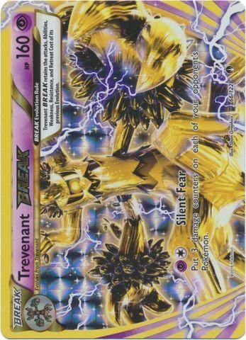 Pokemon Trevenant Break 66 122 Xy Breakpoint Holo