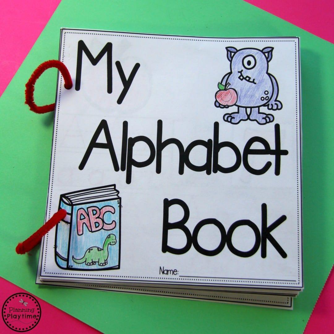Diy Alphabet Books