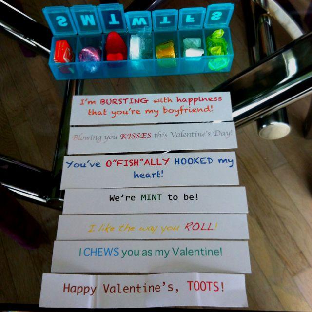 My very own pinterest inspired valentine for Matt