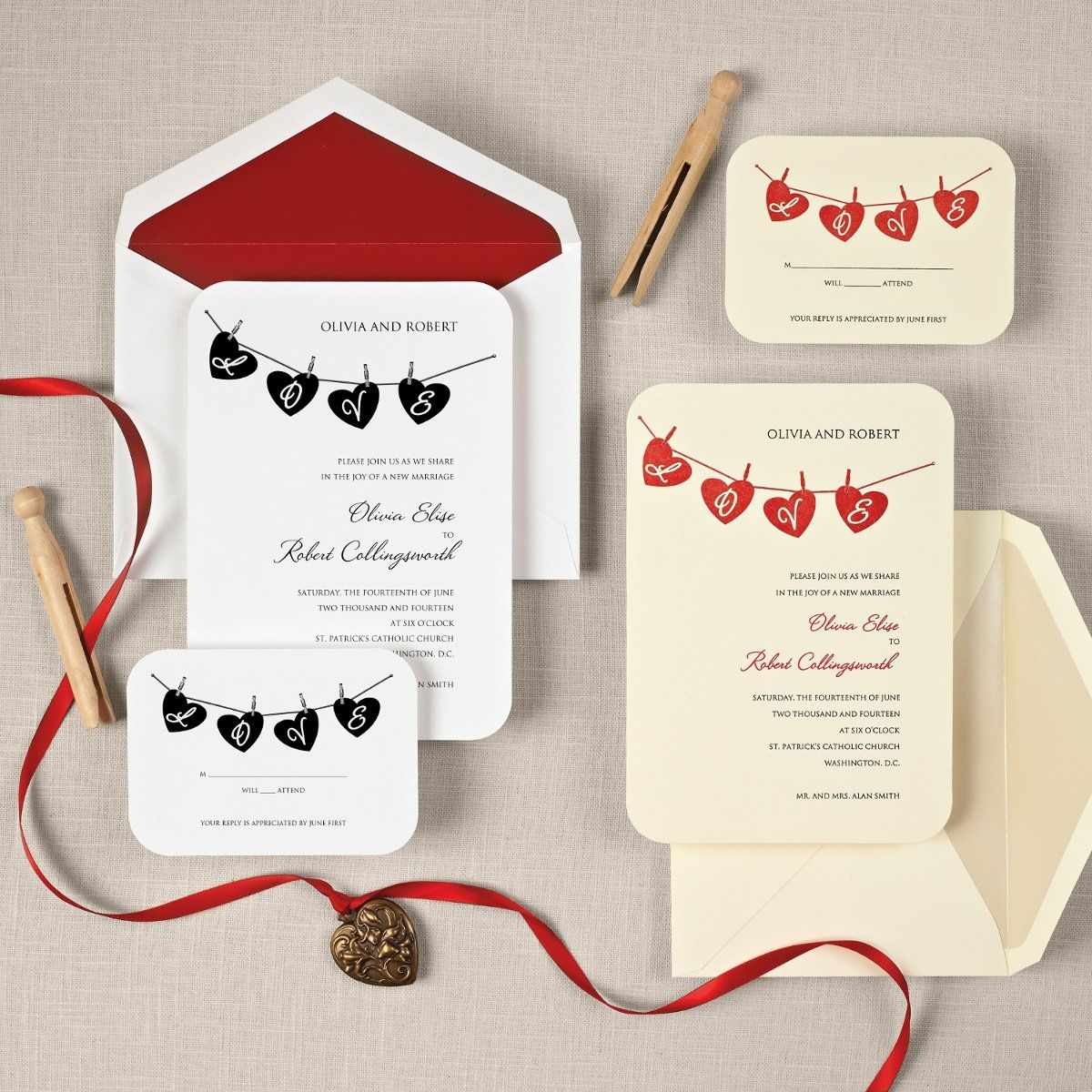 Modern Rustic Shabby Chic Black Red Exclusively Weddings ...