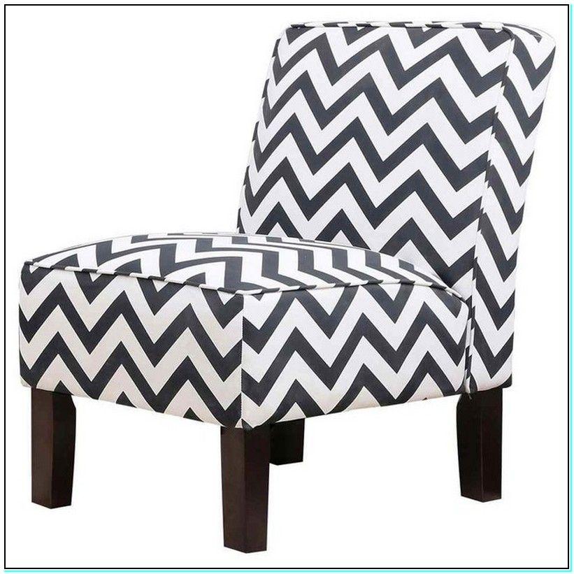 Pleasant Black White Accent Chair Stuhle Stuhle Chevron Und Theyellowbook Wood Chair Design Ideas Theyellowbookinfo
