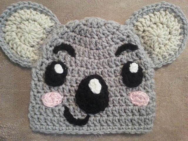 Crazy for #Crochet Koalas: 10 Free Patterns! | Patrones gráficos ...