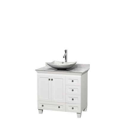 wyndham collection acclaim 36 single bathroom vanity set products rh pinterest com au