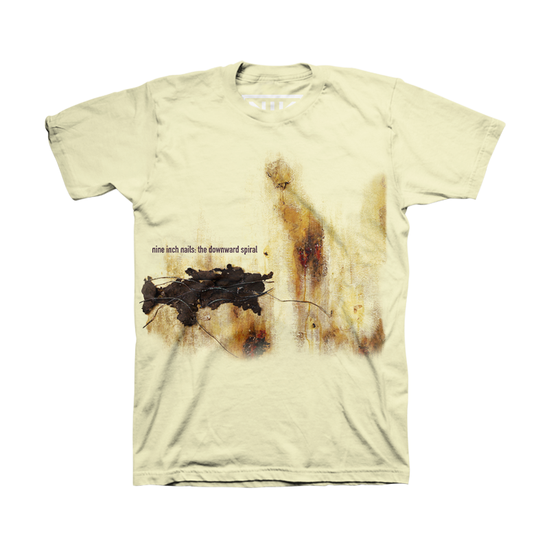The Downward Spiral Sublimated Tee - Nine Inch Nails | Schtuff Wish ...
