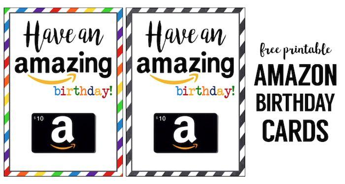 Teacher Appreciation Amazon Card Paper Trail Design Free Printable Birthday Cards Amazon Gift Card Free Birthday Banner Free Printable