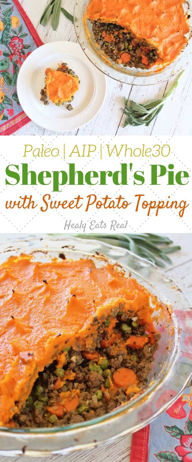 Shepherd's Pie Recipe with Sweet Potato (Paleo, AIP, Whole30) images