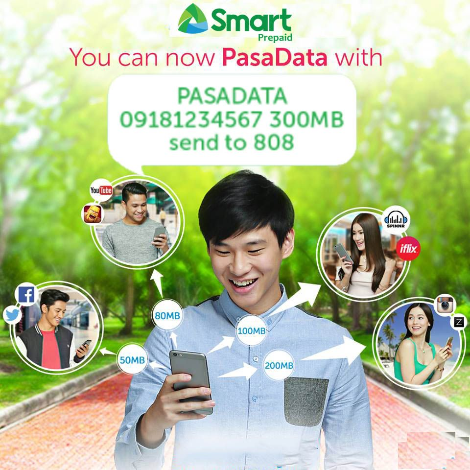 How To Pasadata In Smart Prepaid Gigasurf Promo Smart Telecom Already Offers Smart Gigasurf Promo Which We Can Enjoy The Intern Smart Smart Telecom Share Data