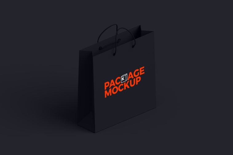 Download Black Paper Shopping Bag Mockup Bag Mockup Black Paper Paper Shopping Bag
