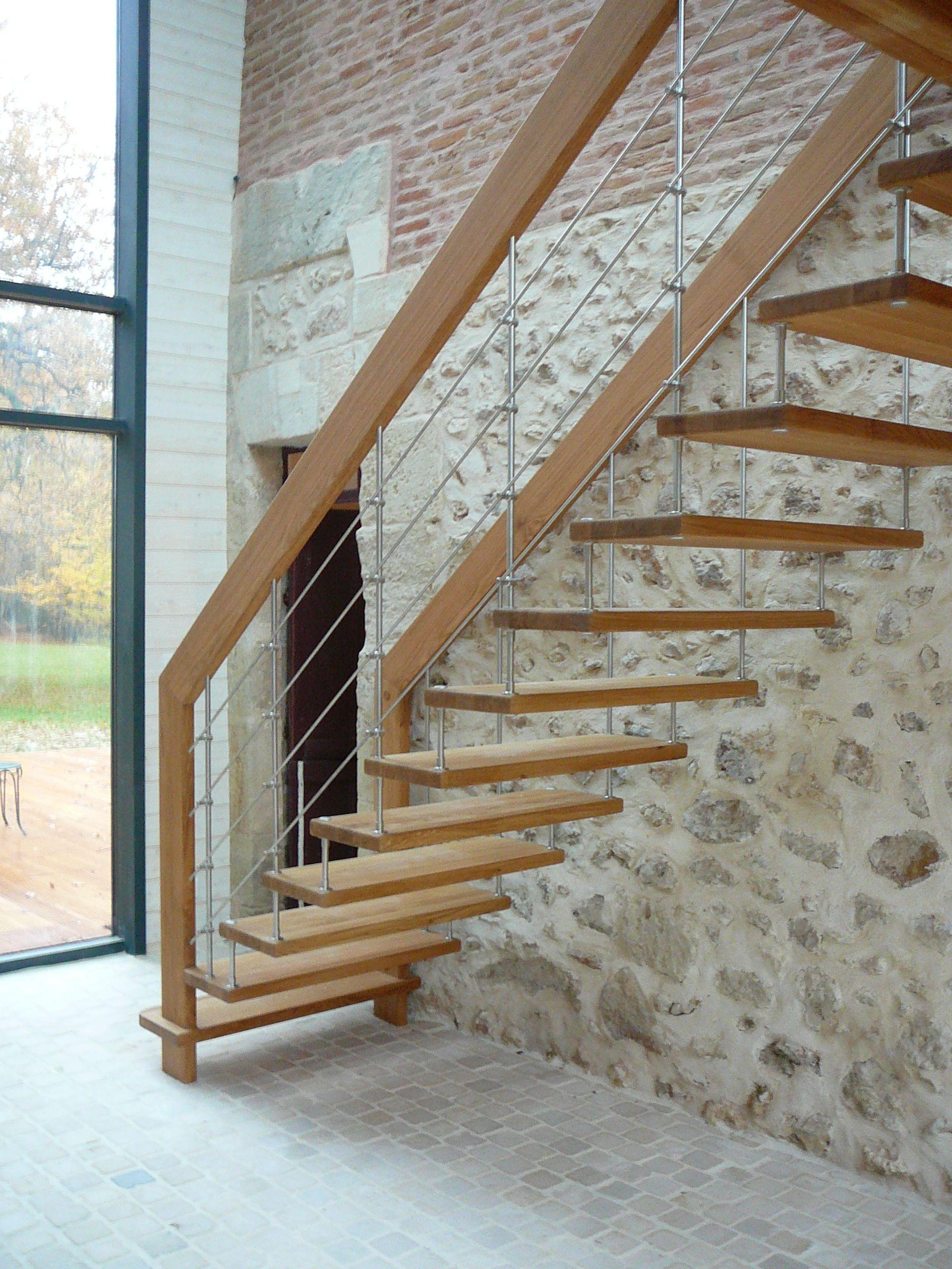 Escalier Marches Suspendues Mur escalier à marches suspendues nova r6 en hêtre sur mur en