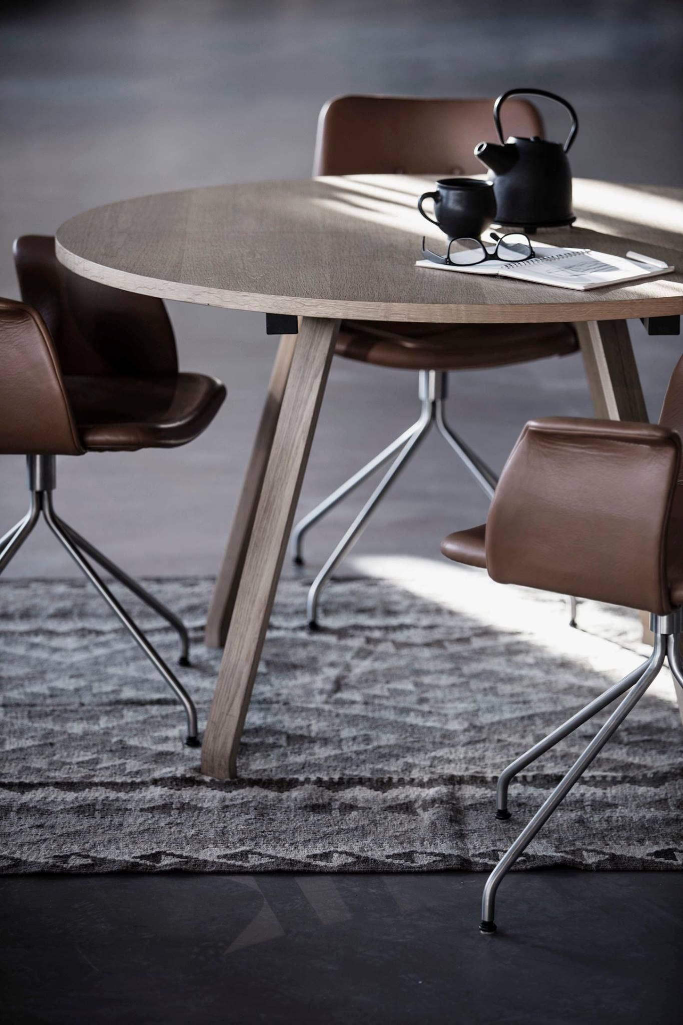 Modern dining room chairs, chairs and leather on pinterest