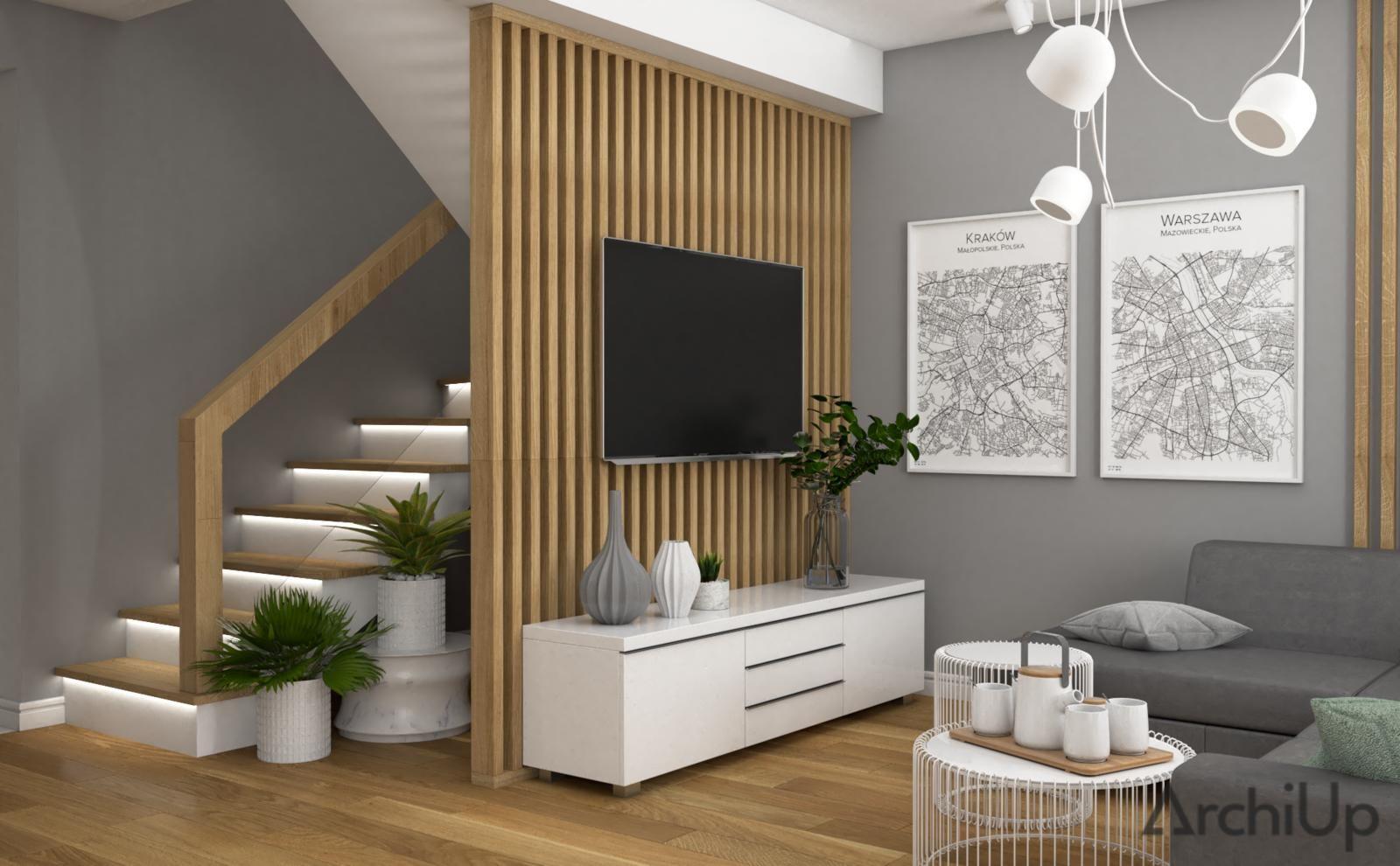 Dom pod Tarnowem | VINSO Projektowanie Wnętrz - Ar