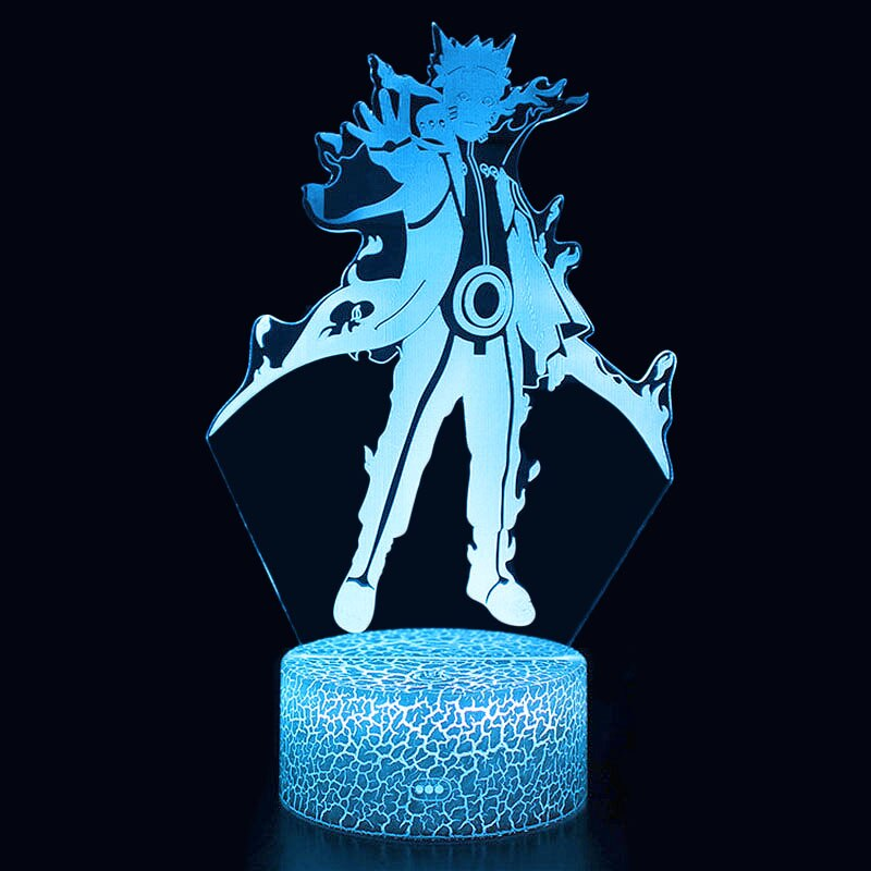 Anime Naruto Uzumaki Led Night Light Team 7 Sasuke Kakashi Hatake Kids Bedroom Nightlight Itachi Uchiha 3d Lamp Child Xmas In 2020 Anime Naruto Led Night Light Naruto