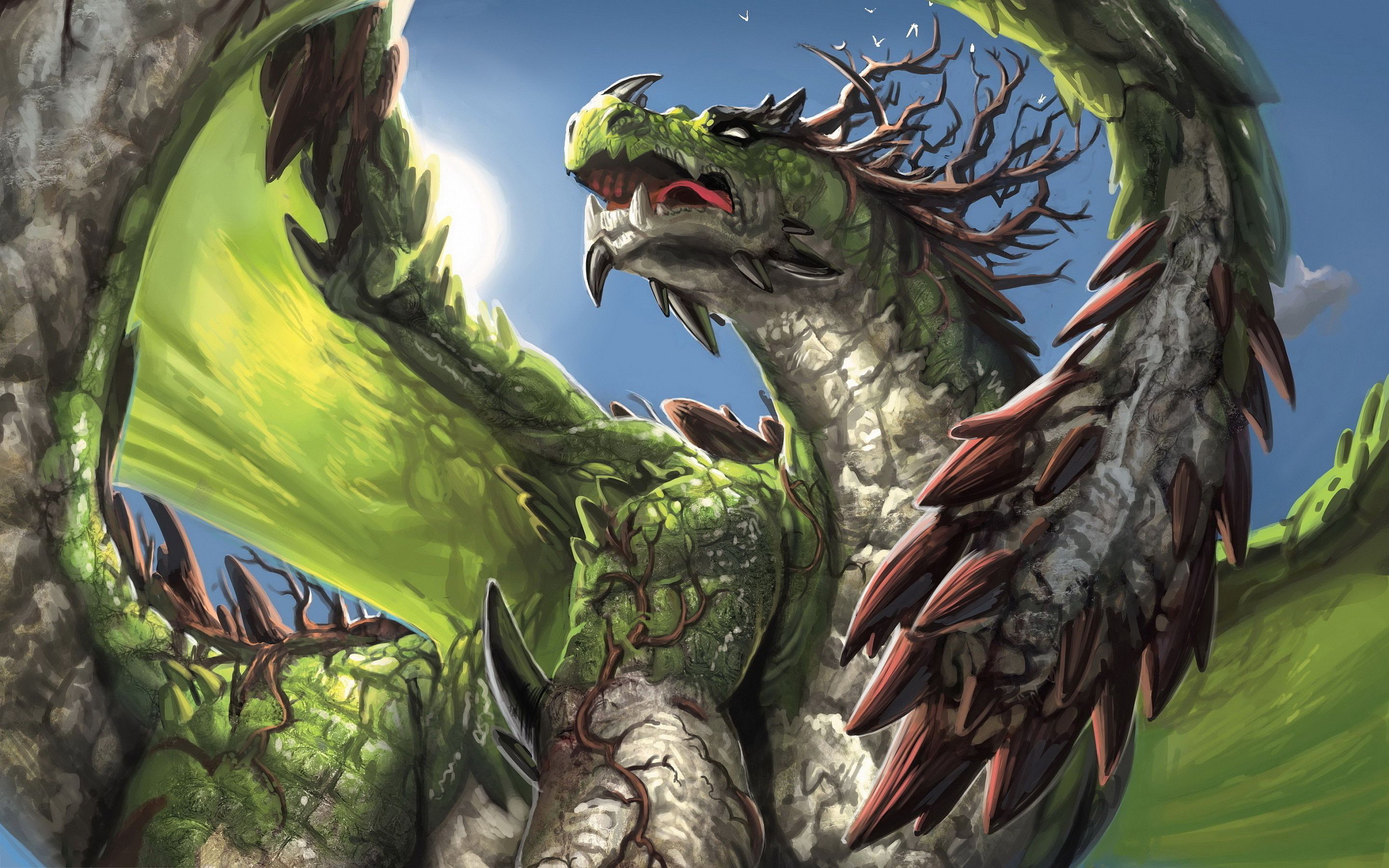 dragons green | Green dragon Wallpapers Pictures Photos ...