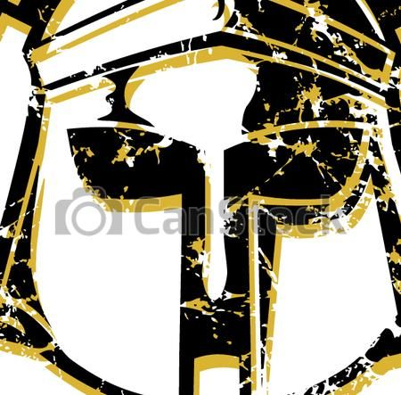 Vectors Illustration of distressed spartan helmet csp23966179 - Search Clipart, Illustration, Drawings, and EPS Clip Art Graphics Images