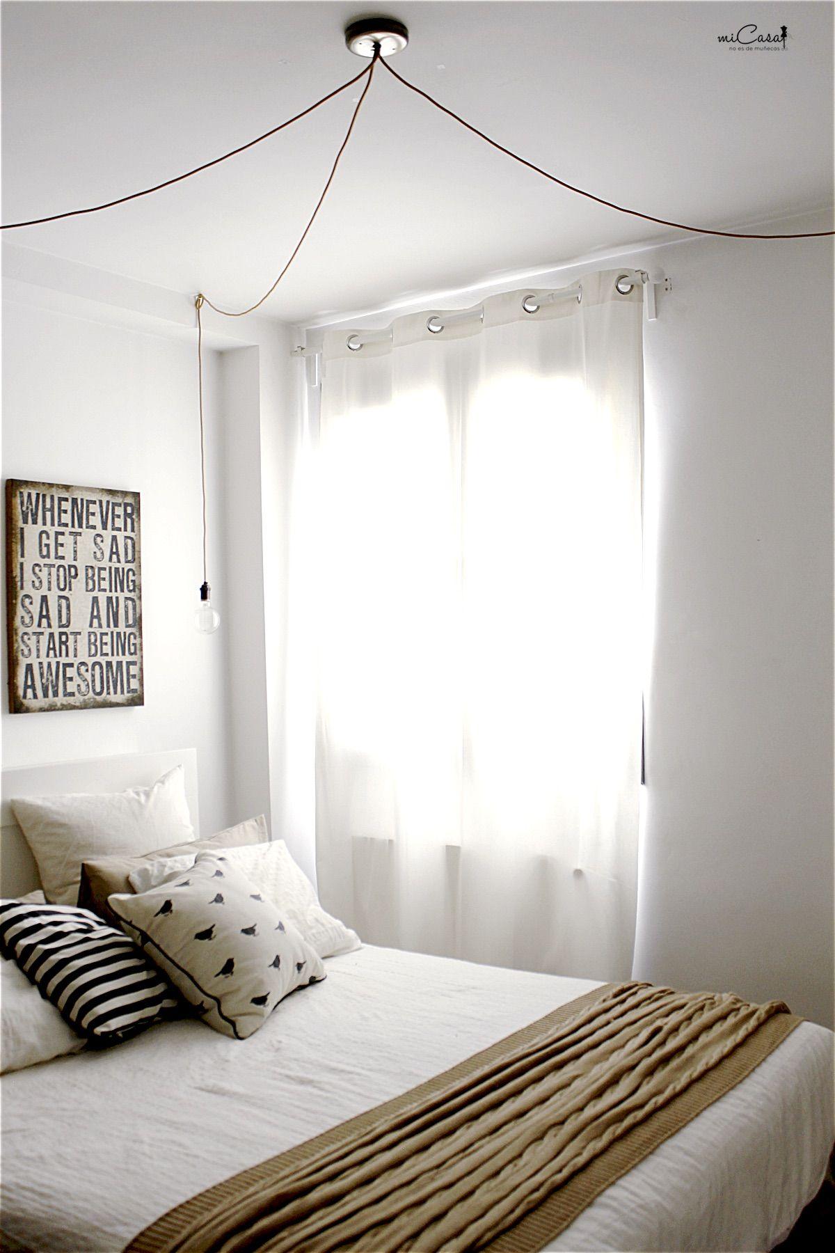 L mparas de techo lamparas lampara techo dormitorio - Lamparas para dormitorios ...