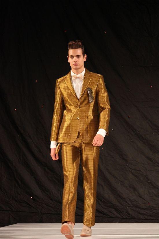 marlon-gobel-gold-suit.jpg 550×825 pixels | Men of Suits and Ties ...