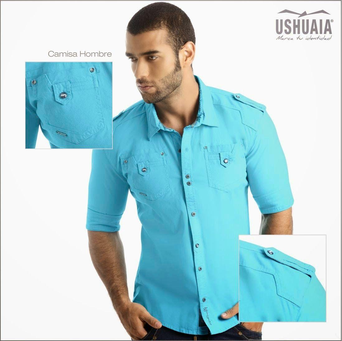 38f3aa467b Resultado de imagen para camisa manga tres cuartos para hombre ...