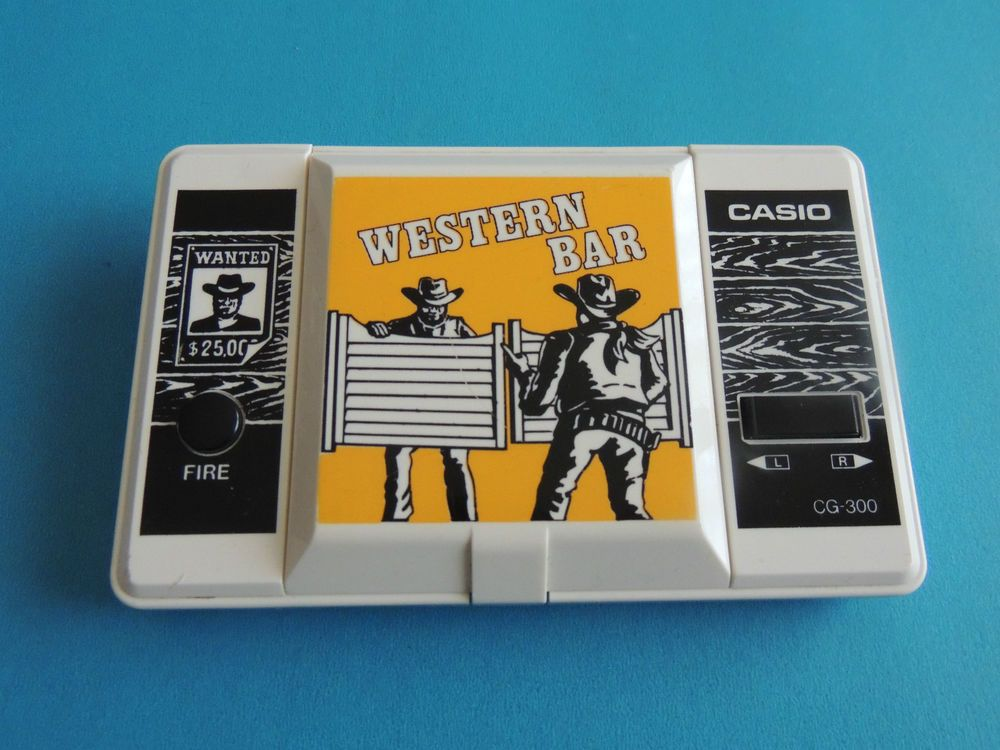 Bar WatchVideojuegos Maquinita Gameamp; Western Tipo 300 Casio Cg uK3JT1clF