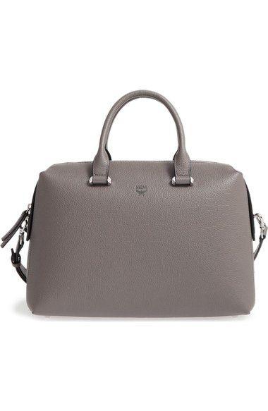 Mcm Medium Ella Boston Bowler Bag Bags Shoulder Hand