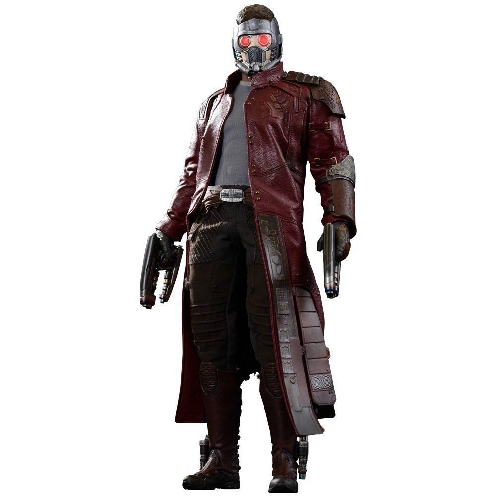 Amazon Com Hot Toys Marvel Guardians Of The Galaxy Movie Masterpiece Star Lord Sixth Scale Action Galaxy Movie Guardians Of The Galaxy Action Figures Hot Toys