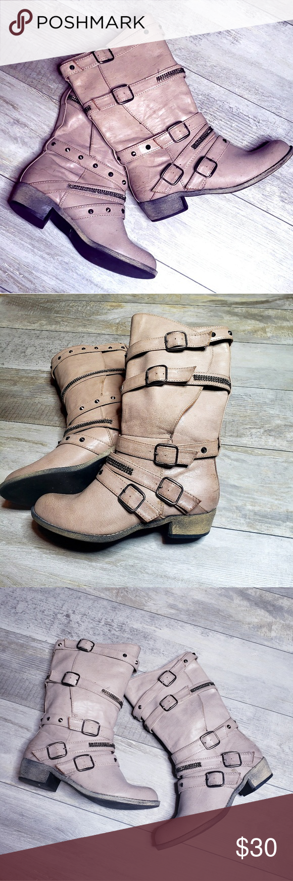 a30e02d8809b Call it Spring moto boots size 7 Awesome moto boots EUC Call it spring Size  7