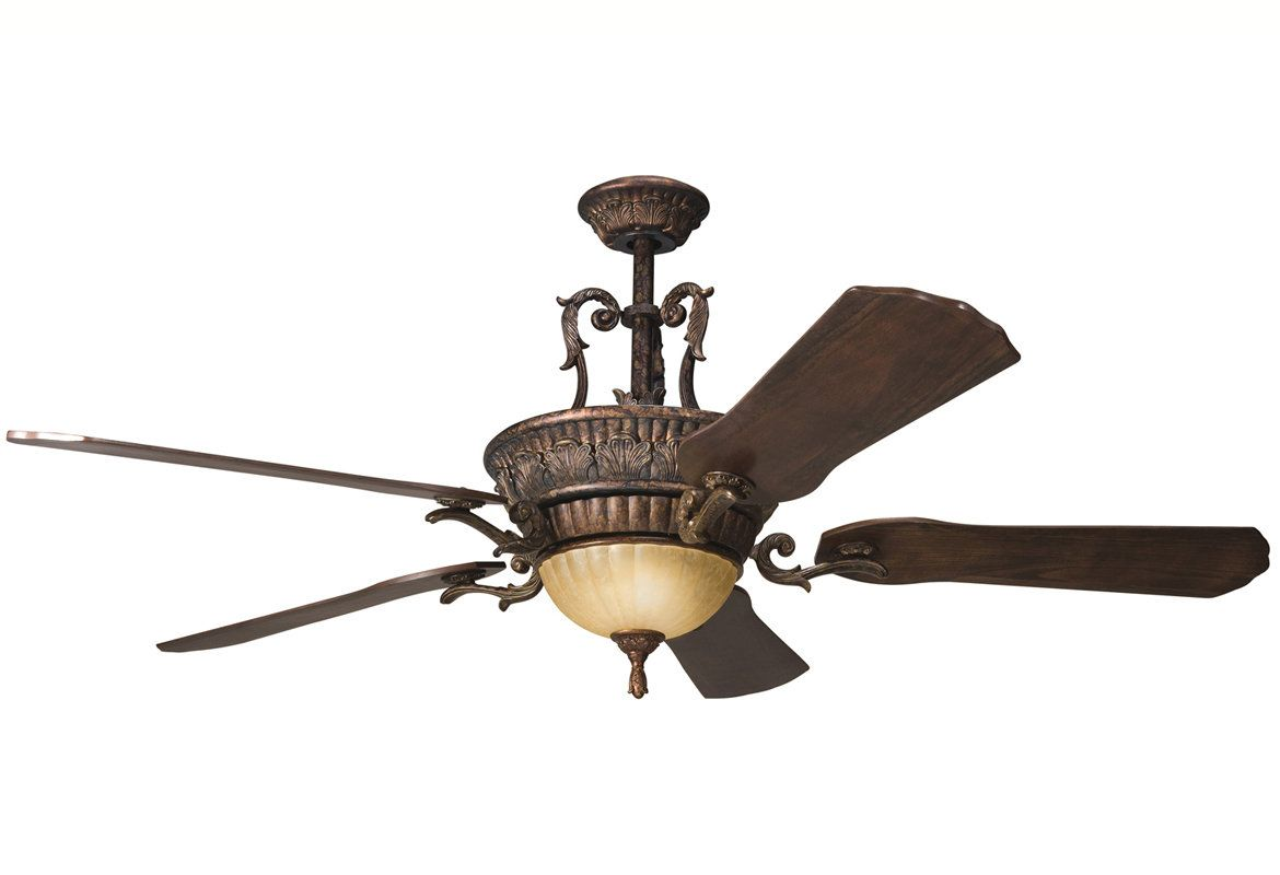View The Kichler 300008 Kimberley 56 Indoor Ceiling Fan With 5 Wiring Diagram Blades Includes Cool